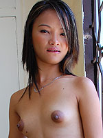 Irene shows off her extreme puffy nipples
